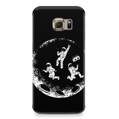 Enjoying space astraunauts design Samsung S7  printed back cover