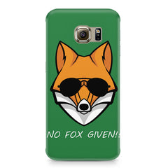 No fox given design Samsung S6  printed back cover