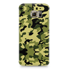 Camoflauge army color design Samsung S7  printed back cover