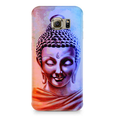 Lord Buddha design Samsung S6  printed back cover