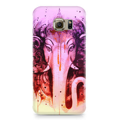 Lord Ganesha design Samsung S6  printed back cover