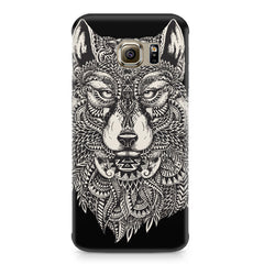 Fox illustration design Samsung S7  printed back cover
