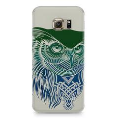 Owl Sketch design,  Samsung S6  printed back cover