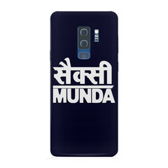 Sexy Munda quote design Samsung S9 Plus all side printed hard back cover by Motivate box Samsung S9 Plus hard plastic printed back cover.