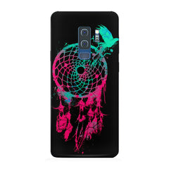 Good luck Pigeon sketch design Samsung S9 Plus all side printed hard back cover by Motivate box Samsung S9 Plus hard plastic printed back cover.