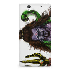 Shiva With Trishul  Sony Xperia C4 printed back cover