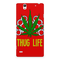Thug life  Sony Xperia C4 printed back cover