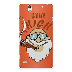 Stay high  design,  Sony Xperia C4 printed back cover
