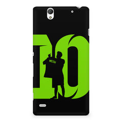 Lionel Messi 10 Footballer  design,  Sony Xperia C4 printed back cover