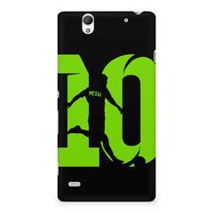 Lionel Messi 10 Playing  design,  Sony Xperia C4 printed back cover