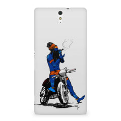 Puff pass  Sony Xperia C5 printed back cover