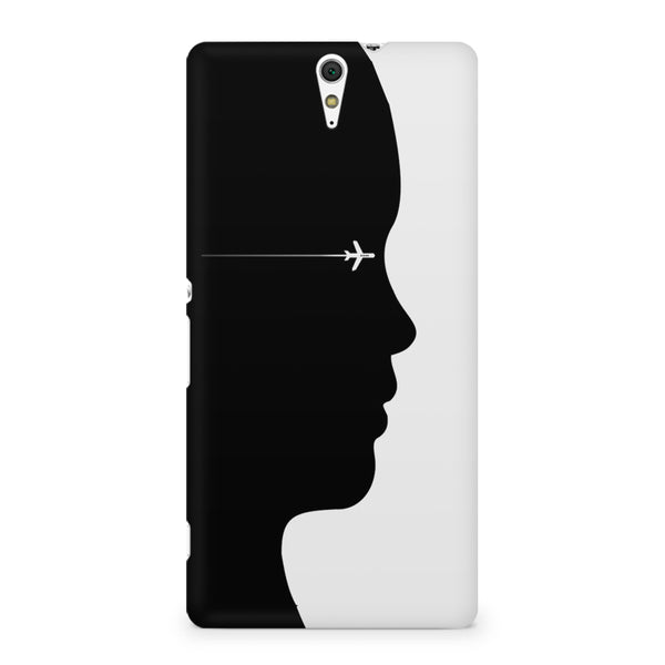A vision to fly Sony Xperia C5 printed back cover