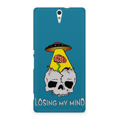Losing my mind funny design Sony Xperia C5 printed back cover