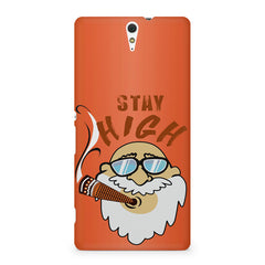 Stay high  design,  Sony Xperia C5 printed back cover