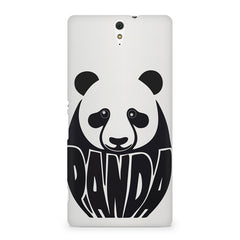 White Panda  design,  Sony Xperia C5 printed back cover