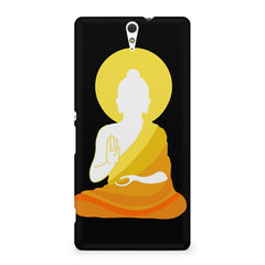 Buddha sketch design Sony Xperia C5 printed back cover