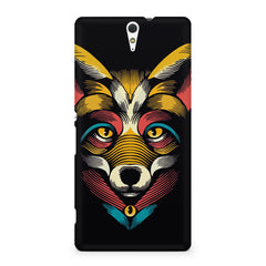 Fox sketch design Sony Xperia C5 printed back cover