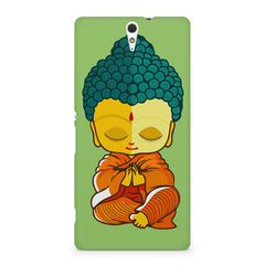 Buddha caricature design Sony Xperia C5 printed back cover