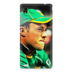 AB de Villiers South Africa  Sony Xperia Z2 printed back cover