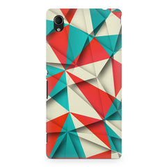 3D Colourful shapes Sony Xperia Z5/Z5 Dual printed back cover