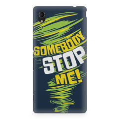 Be Unstoppable design Sony Xperia Z2 printed back cover