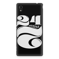 Always hustle design Sony Xperia Z2 printed back cover