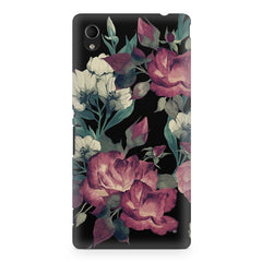 Abstract colorful flower design Sony Xperia Z2 printed back cover