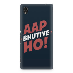 Aap Bhutiye Ho quote design Sony Xperia Z2 printed back cover