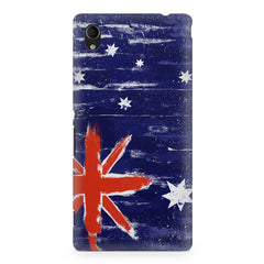 Australian flag design Sony Xperia Z2 printed back cover