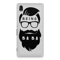 Being Baba design Sony Xperia Z2 printed back cover