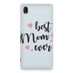 Best Mom Ever Design Sony Xperia Z5/Z5 dual hard plastic printed back cover