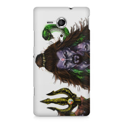 Shiva With Trishul  Sony Xperia SP M35H printed back cover