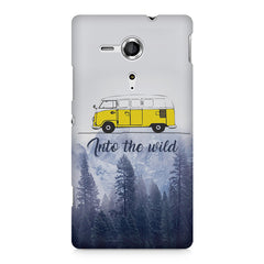 Into the wild for travel Wanderlust people Sony Xperia SP M35H printed back cover