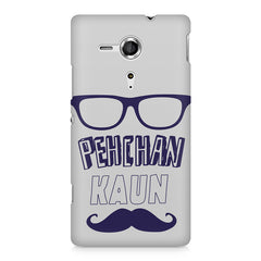 Pehchan kaun?  design,  Sony Xperia SP M35H printed back cover