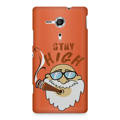 Stay high  design,  Sony Xperia SP M35H printed back cover