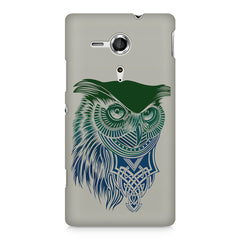 Owl Sketch design,  Sony Xperia SP M35H printed back cover