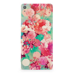 Floral  design,  Sony Xperia XA  printed back cover