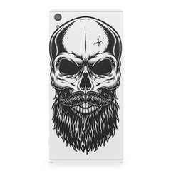 Skull with the beard  design,  Sony Xperia XA1  printed back cover