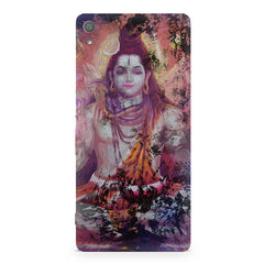Shiva painted design Sony Xperia XA  printed back cover