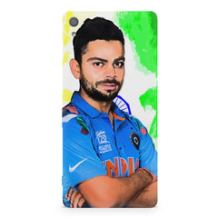 Virat Kohli Oil Painting India design,  Sony Xperia XA  printed back cover