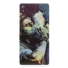 Smoking weed design Sony Xperia XA1  printed back cover