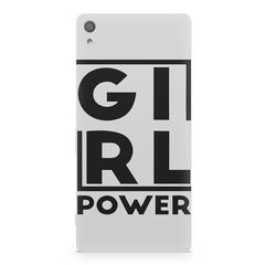 Girl power deisgn Sony Xperia XA  printed back cover