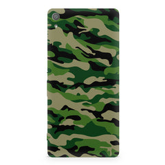 Military design design Sony Xperia XA  printed back cover