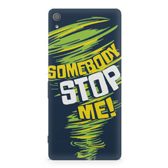 Be Unstoppable design Sony Xperia XA  printed back cover