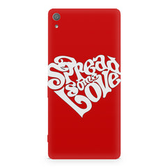 Spread some love design Sony Xperia XA  printed back cover