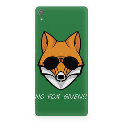 No fox given design Sony Xperia XA  printed back cover