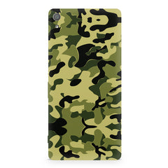 Camoflauge army color design Sony Xperia XA  printed back cover