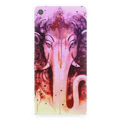 Lord Ganesha design Sony Xperia XA  printed back cover
