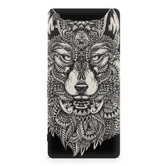 Fox illustration design Sony Xperia XA  printed back cover