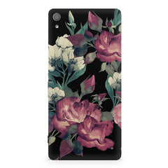 Abstract colorful flower design Sony Xperia XA  printed back cover